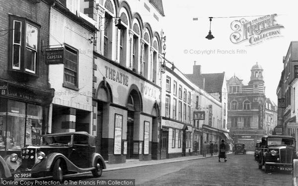 Photo of Worcester, Angel Street c.1950