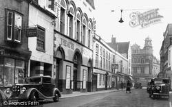Worcester, Angel Street c.1950