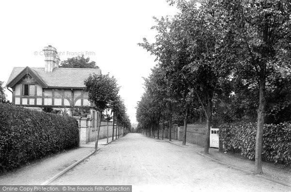 Photo of Worcester, Battenhall Avenue 1907