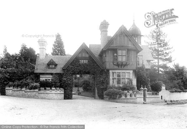 Photo of Worcester, Battenhall Lodge 1907