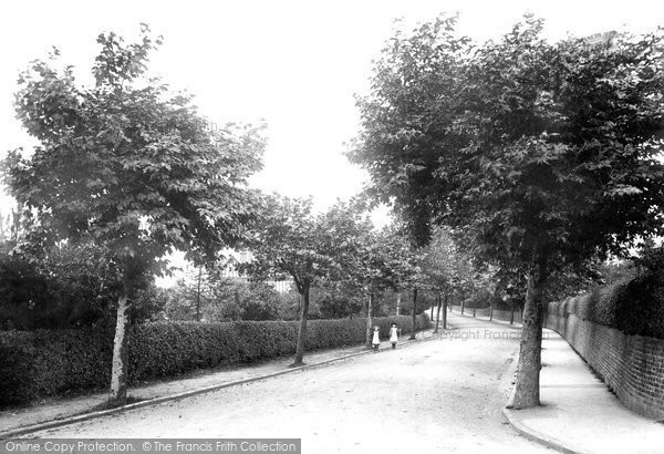 Photo of Worcester, Battenhall Road 1907