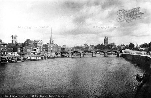 Photo of Worcester, Bridge 1899