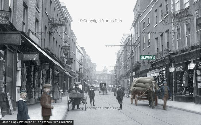 Photo of Worcester, Broad Street 1908