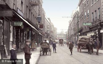 Worcester, Broad Street 1908