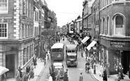 Worcester, Broad Street c1956
