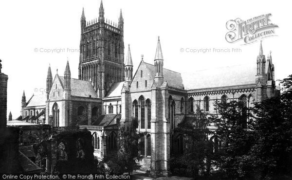 Photo of Worcester, Cathedral 1892
