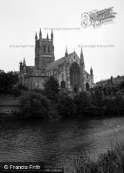 Worcester, Cathedral 1948