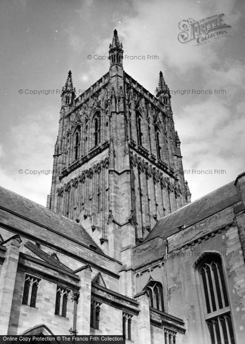 Photo of Worcester, Cathedral 1951