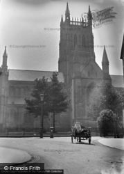 Worcester, Cathedral c.1890