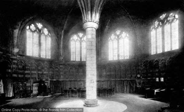 Photo of Worcester, Cathedral Chapter House 1892