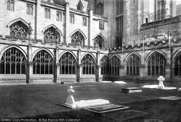 Photo of Worcester, Cathedral, Cloister Court 1891