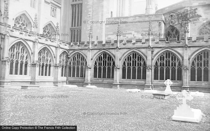 Photo of Worcester, Cathedral Cloisters c.1890