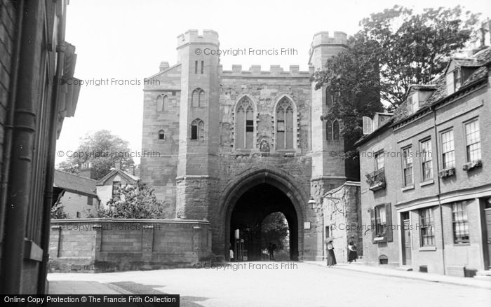 Photo of Worcester, Cathedral Gateway c.1890