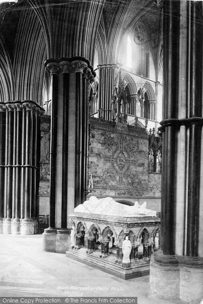 Photo of Worcester, Cathedral, Monument 1891