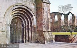 Worcester, Cathedral, Norman Arch To Cloister Entrance c.1965