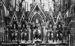 Worcester, Cathedral Reredos c.1869