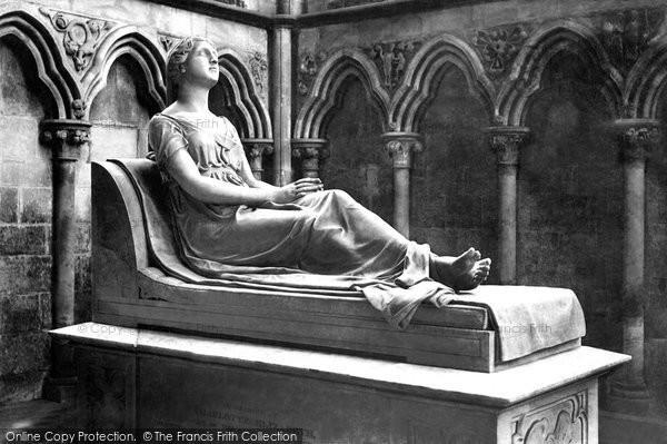 Photo of Worcester, Cathedral, The Mrs Digby Monument 1891
