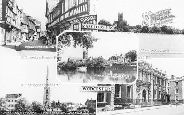 Photo of Worcester, Composite c.1965