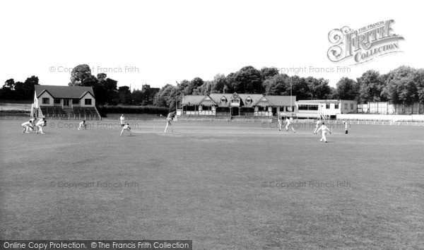 Photo of Worcester, County Cricket Ground c.1965