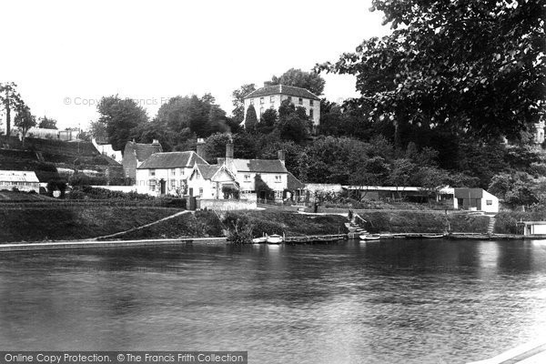 Photo of Worcester, Dog And Duck Ferry 1923