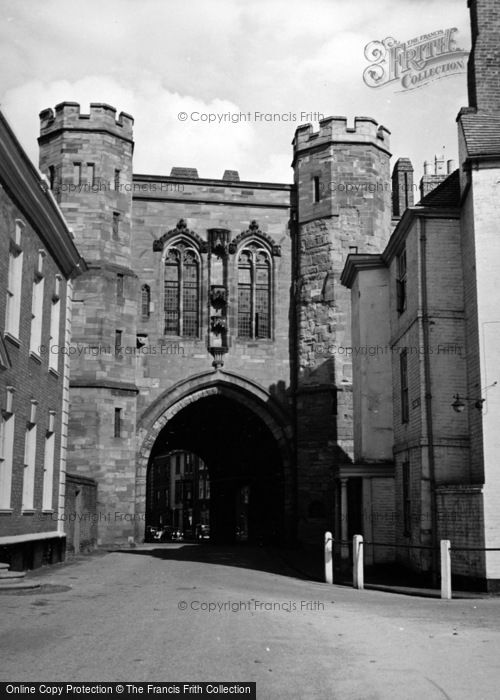 Photo of Worcester, Edgar Tower c.1950