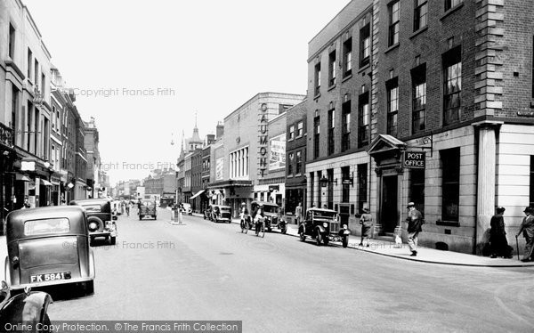 Photo of Worcester, Foregate Street 1936