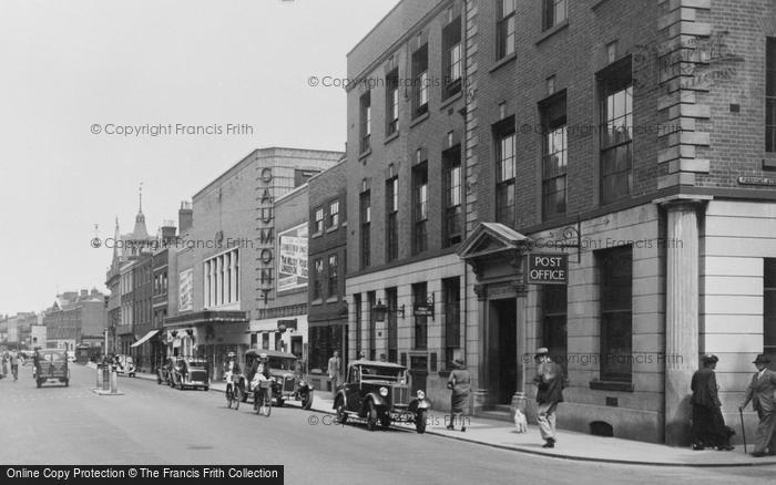 Photo of Worcester, Foregate Street And Post Office 1936