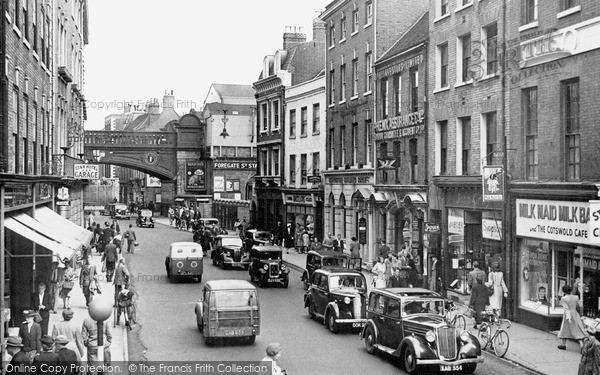 Photo of Worcester, Foregate Street c.1950