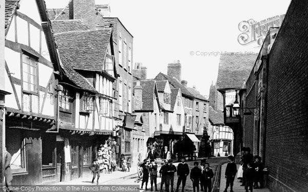 Photo of Worcester, Friar Street 1891