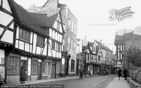 Photo of Worcester, Friar Street c.1950
