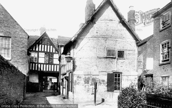 Photo of Worcester, Friar Street, Old House 1891