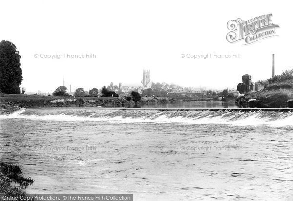 Photo of Worcester, From Weir 1891