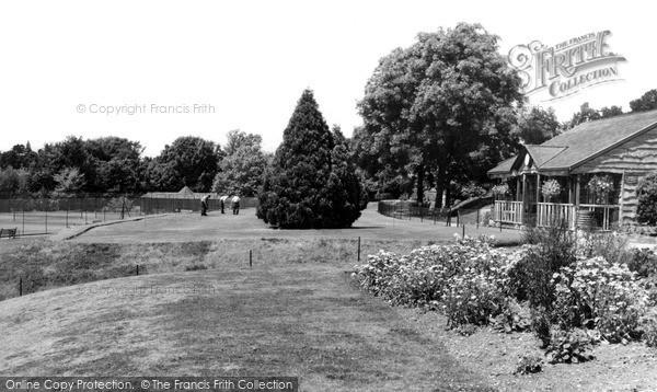 Photo of Worcester, Gheluvelt Park c.1965