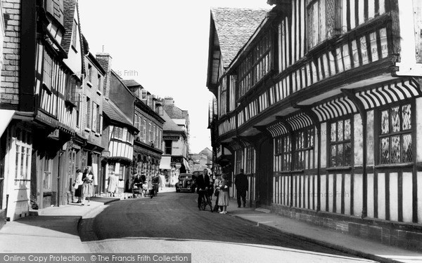 Photo of Worcester, Greyfriars, Friar Street c.1960