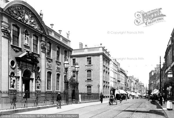 Photo of Worcester, Guildhall And High Street 1904