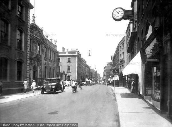 Photo of Worcester, High Street 1931