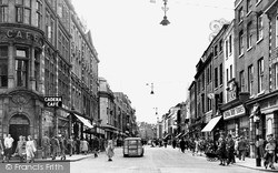 Worcester, High Street c.1950