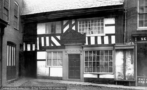 Photo of Worcester, King Charles House, Corn Street 1891