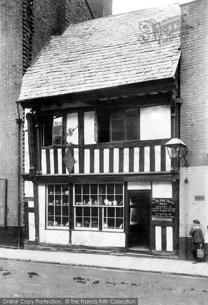 Photo of Worcester, King Charles House, New Street 1906
