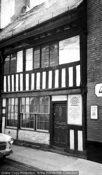 Photo of Worcester, King Charles II House c.1965