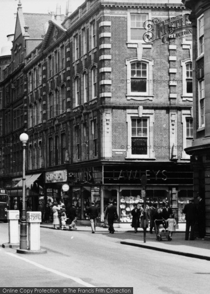 Photo of Worcester, Lawleys, The High Street c.1960