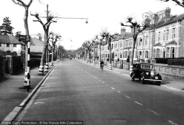 Photo of Worcester, Malvern Road, St John's c.1940
