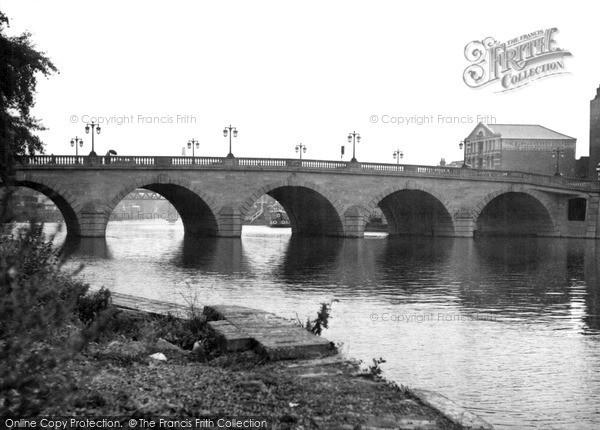 Photo of Worcester, New Bridge c.1955