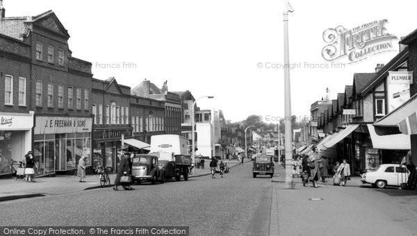 Photo of Worcester Park, c.1955