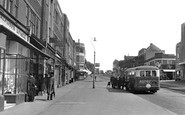 Worcester Park, Central Road c1950