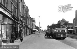 Worcester Park, Central Road c.1950