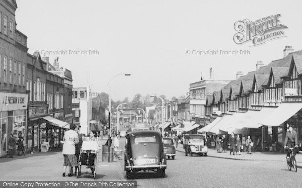 Photo of Worcester Park, Central Road c.1955