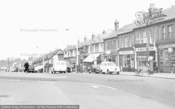Photo of Worcester Park, Central Road c.1960