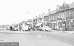 Worcester Park, Central Road c.1960