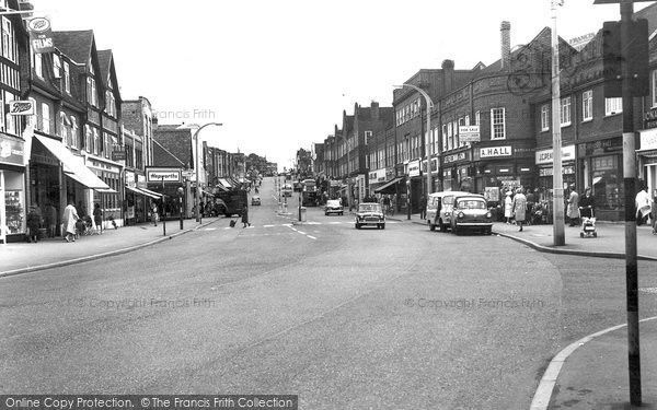 Photo of Worcester Park, Central Road c1965